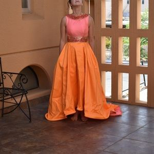 One of a kind MacDugal pageant gown